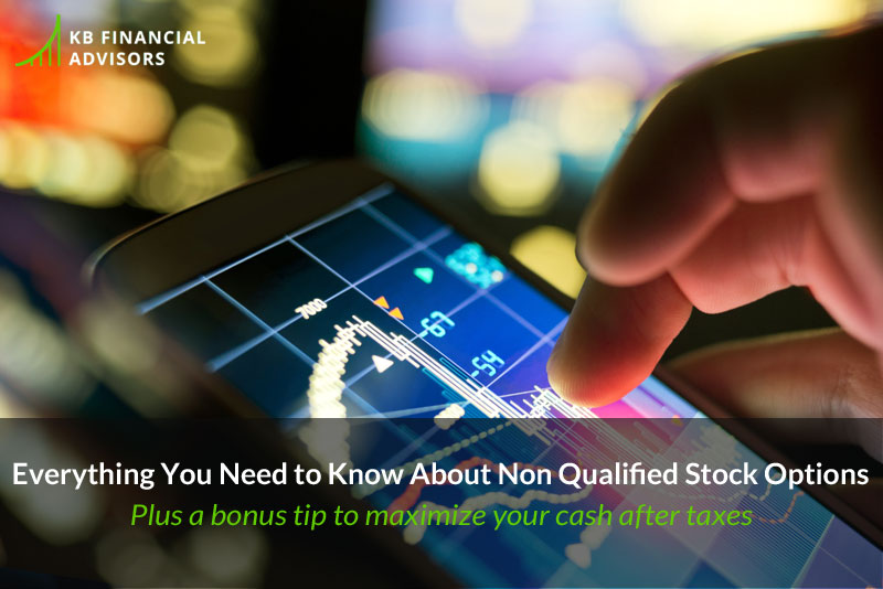 Non qualified stock options grant price