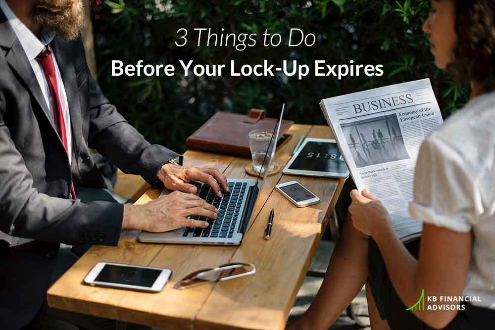 3 Things To Do Before Your Lock-Up Expires