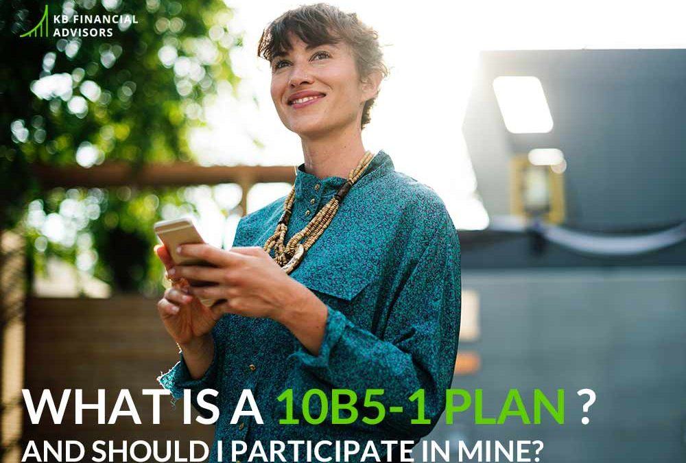 What Is a 10b5-1 Plan — And Should I Participate in Mine?