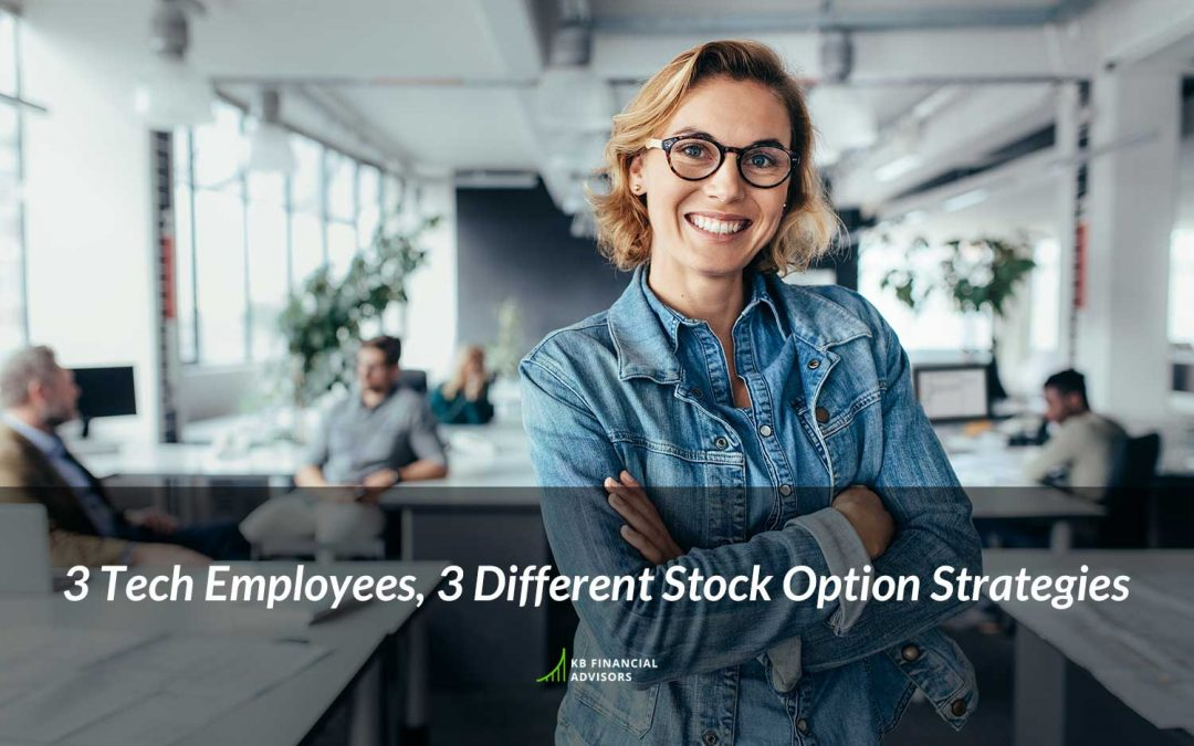 3 Tech Employees, 3 Different Stock Option Strategies