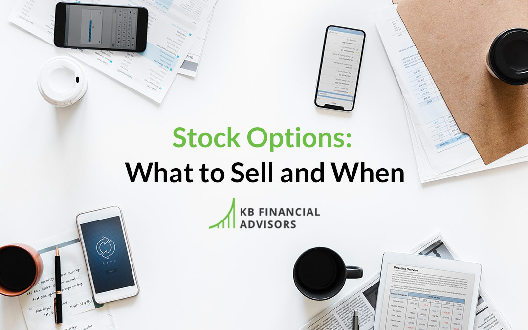 Selling incentive stock options